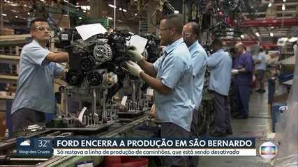 Uma das montadoras mais antigas do país, Ford encerra atividades em São Bernardo do Campo