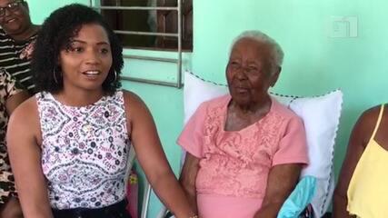 Neta fala sobre avó de 118 anos que foi escravizada mesmo após Lei Áurea na BA