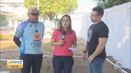 'Pedal da Paz' coloca em debate a segurança no trânsito de Macapá