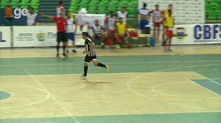 Com gol único de João César, Ceará vence o Garapa e está na final da Copa Nordeste de Futsal