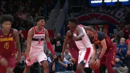 Melhores momentos: Cleveland Cavaliers 113 x 100 Washington Wizards pela NBA