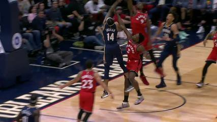 Melhores momentos: Toronto Raptors 122 x 104 New Orleans Pelicans pela NBA