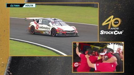 Veja a última volta da vitória de Bruno Baptista na segunda corrida da etapa de Mogi Guaçu da Stock Car