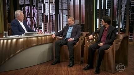 Pedro Bial recebe o ator Carlos Vereza e o cineasta Josias Teófilo