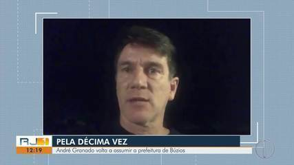 André Granado volta ao cargo de prefeito de Búzios, RJ, pela décima vez