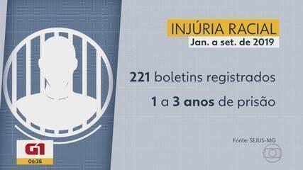 G1 no BDMG: Em 9 meses, Minas registrou quase 300 ocorrências de injúria racial e racismo
