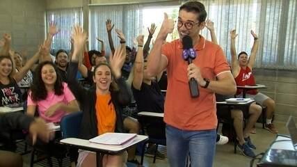 Marcos Paiva visita uma das melhores instituições de ensino do Brasil