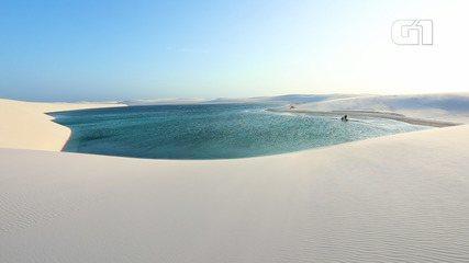 Lençóis Maranhenses: em Santo Amaro, aventura e lagoas de águas transparentes