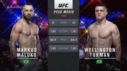 UFC São Paulo - Markus Maluko x Wellington Turman