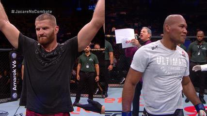 Melhores momentos da luta entre Jan Blachowicz x Ronaldo Jacaré - UFC São Paulo