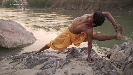 'A Jornada da Vida': conheça a capital mundial da ioga