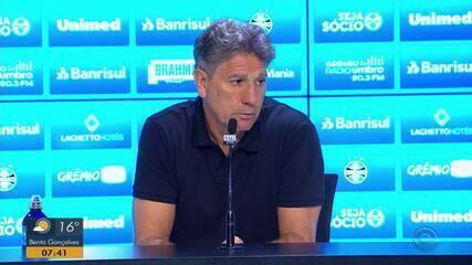 Renato fala sobre lance duvidoso e da renovação de contrato