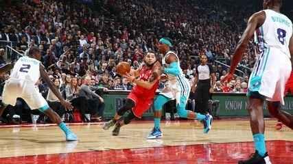 Melhores momentos de Charlotte Hornets 132 x 96 Toronto Raptors pela NBA