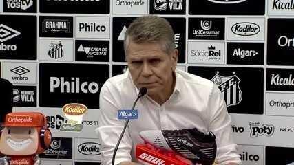 Autuori comunica que não ficará no Santos em 2020