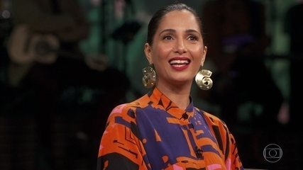 Camila Pitanga fala sobre o casamento de seu pai com Benedita