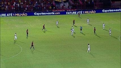 Guilherme marca contra o Paraná