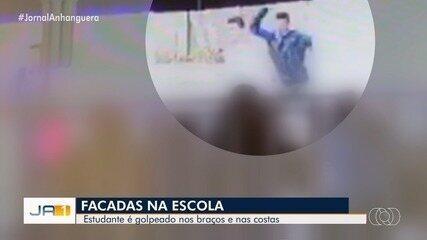 Aluno é esfaqueado por adolescente dentro de escola em Itapuranga