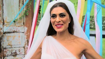 Juliana Paes faz balanço final sobre 'A Dona do Pedaço'
