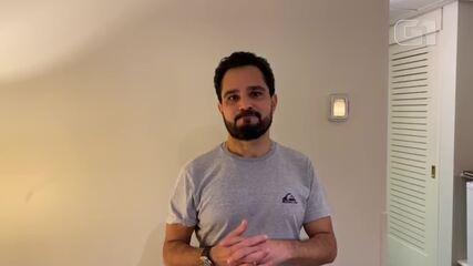 Luciano Camargo lamenta morte de Gugu Liberato
