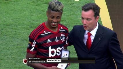 Bruno Henrique é eleito o craque da Libertadores
