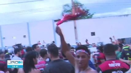 Flamenguistas de Rondônia comemoram final da Libertadores