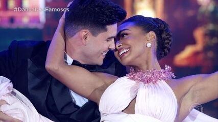 Dandara Mariana dança foxtrote no 'Dança dos Famosos'