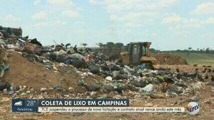 Prefeitura de Campinas suspende licitação para novo contrato temporário do lixo