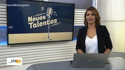 Conheça Barbára e Santiago e Sheila Araújo, participantes do concurso Novos Talentos