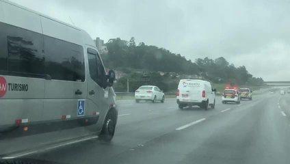 Corpo de Gugu Liberato chega a São Paulo para ser velado