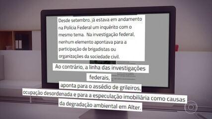 MPF do Pará pede acesso à inquérito que acusa brigadistas de incêndios