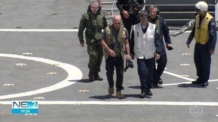 Ministro da Defesa anuncia que fuzileiros navais deixarão Pernambuco em dezembro