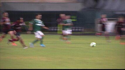 Melhores momentos de Palmeiras 1x0 Flamengo pelo jogo de ida da final do Brasileiro Sub-20