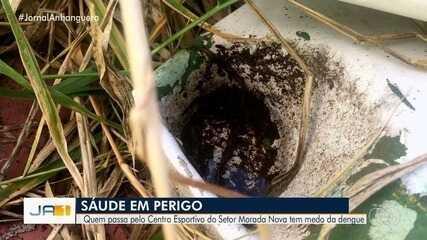 Moradores reclamam de abandono no Centro Esportivo Morada Nova, em Goiânia