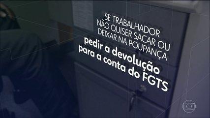 Caixa libera mais um lote de saques de até R$ 500 de contas do FGTS