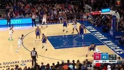 Melhores momentos: Philadelphia 76ers 101 x 95 New York Knicks