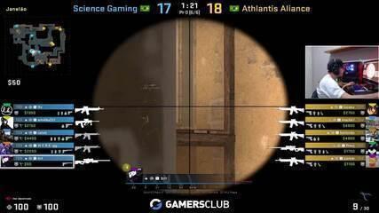 CS:GO: Athantis Academy mantém 100% na fase de grupos da BSL