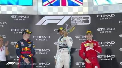 Os melhores momentos do GP de Abu Dhabi