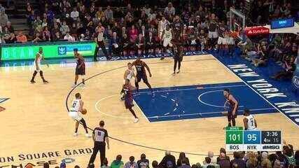 Melhores momentos: New York Knicks 104 x 113 Boston Celtics