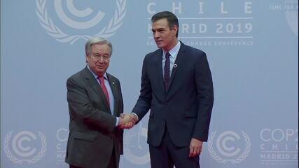 COP 25 começa nesta segunda (2) e reúne líderes mundiais e especialistas em Madri
