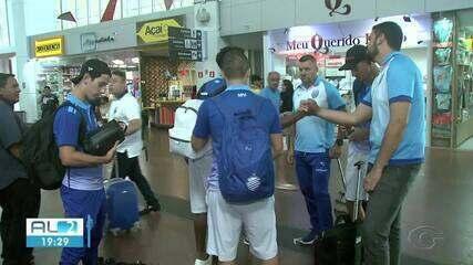 CSA viaja para enfrentar a Chapecoense