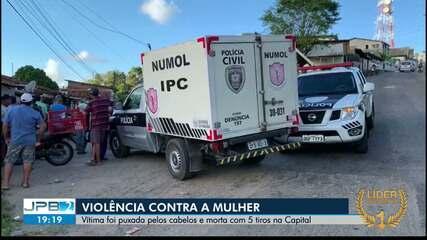 JPB2JP: Mulher foi morta a tiros em João Pessoa