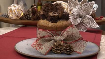 Veja como fazer Panetone de Brownie