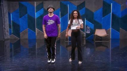 Veja o ensaio de Dandara Mariana e Daniel Norton para a semifinal do 'Dança dos Famosos'