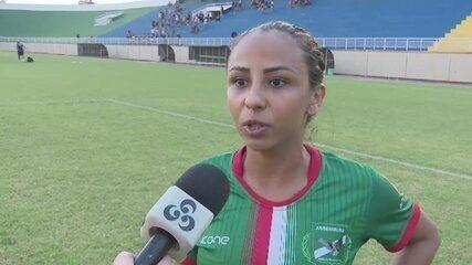 Meia da Assermurb critica arbitragem por pênalti não marcado na final do Acreano Feminino