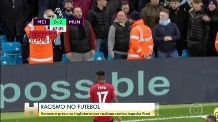 Homem é preso por racismo contra jogador brasileiro na Inglaterra