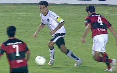 Melhores momentos: Botafogo 3 x 0 Flamengo pelas semifinais da Taça Rio 2008
