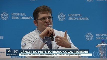 Câncer do prefeito Bruna Covas regrediu