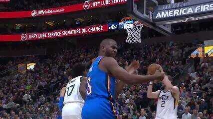 Melhores momentos: Oklahoma City Thunder 104 x 90 Utah Jazz pela NBA