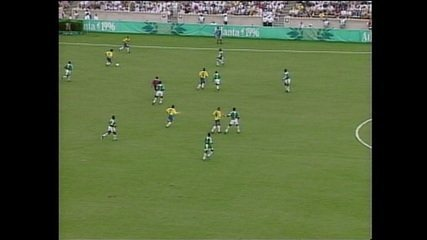 Os gols de Nigéria 4 x 3 Brasil pelas Olimpíadas 1996