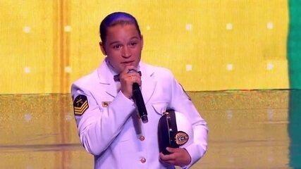 Bia Ferreira é eleita a atleta do ano no prêmio Brasil Olímpico